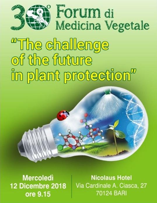 Agricola 2000 @ Forum di Medicina Vegetale – Bari 12-12-2018