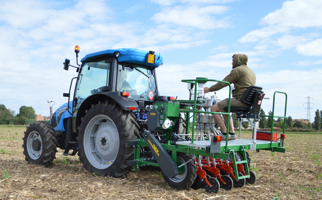 New cereal plot seeder